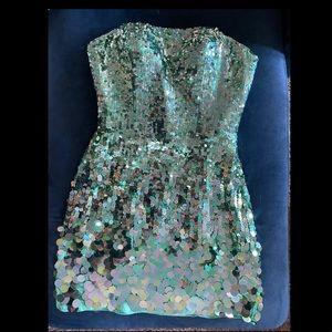 Sherri Hill Cocktail Sequin Dress